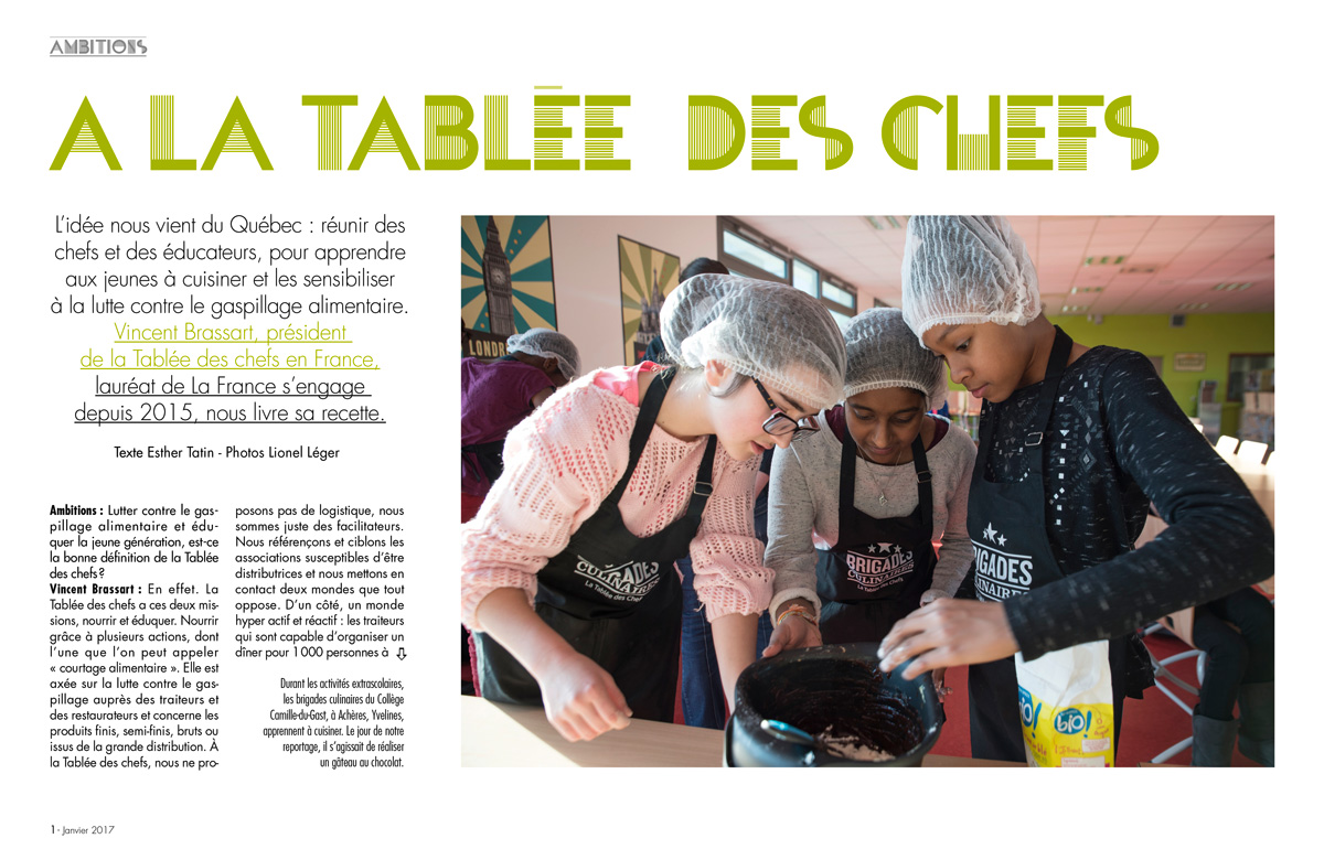La Tablee des chefs
